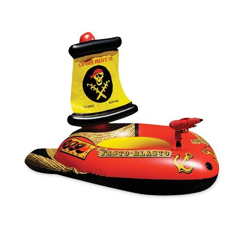 Poolmaster 87212 Pirate Ship With Action Squirter by Poolmaster