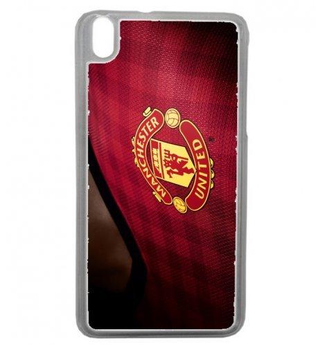 Carcasa transparente HTC Desire 816 Fútbol Club Manchester ...