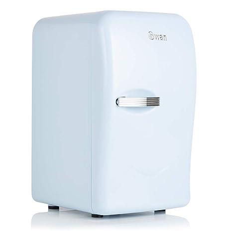 Swan SRE10010BLN, Retro Mini Fridge, Thermoelectric Drinks Warmer ...