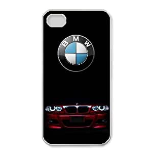 iPhone 4,4S Phone Case White BMW SF8604088