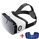 VR Headset - Virtual Reality Goggles by VR WEAR 3D VR Glasses for iPhone 6/7/8/Plus/X & Samsung S6/S7/S8/Note and Other Android Smartphones with 4.5-6.3' Screens – Digital
