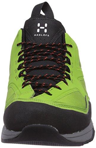 Haglöfs - ROCKER GT, Scarpe da trekking da uomo, multicolore(mehrfarbig (2yy limgreen/dynamite)), 42