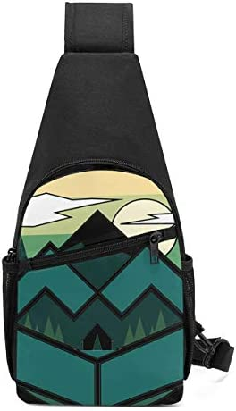 ボディ肩掛け 斜め掛け やま 日 ショルダーバッグ ワンショルダーバッグ メンズ 軽量 大容量 多機能レジャーバックパック