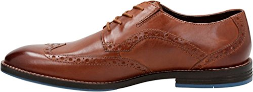 Clarks Hombres Prangley Limit Wing Tip Oxford British Tan