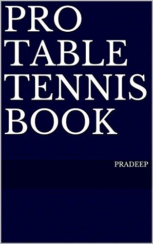 Check Out This Pro Table Tennis Book