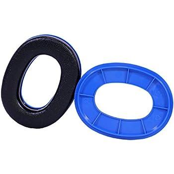 Peltor Sport Ear Cushions Ring Set Blue for Rangeguard & TAC100