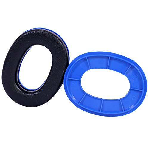Peltor Sport Ear Cushions Ring Set Blue for Rangeguard & TAC