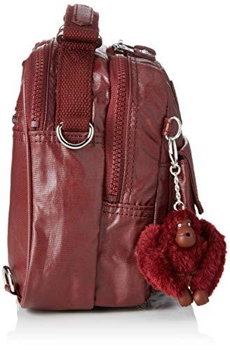 Wine 5 Cm Candy Kipling Rot lacquer Sacs Portés Femme Main 22x19x11 n0qvRwZpv