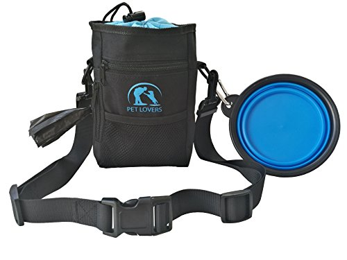 Easy To Put Together Halloween Costumes For Adults (Dog Treat Pouch By Pet Lovers: Puppy Storage Bag With Collapsible Food & Water Bowl And Disposable Poop Bag Hanging Crossbody Bag For Traveling, Walking And Training Dogs Adjustable Belt Strap)