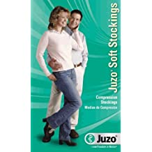 20-30 mmHg Juzo Soft Series Compression Stockings. Pantyhose. Open Toe. Fly. ,Size:III,Color:Black