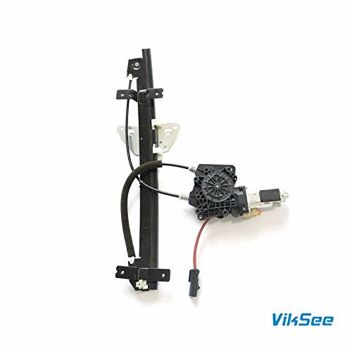 Price comparison product image Viksee 1pc Front Left Driver Side Window Regulator With Motor 741-649 For 00-04 Dakota 98-03 Durango