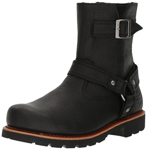 Harley-Davidson Men's Sandfield Work Boot, Black, 8 M US