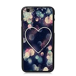 For iphone 6 4.7 Case, Fashion Beautiful Love Pattern Protective Hard Phone Cover Skin Case For iphone 6 4.7) + Screen Protector