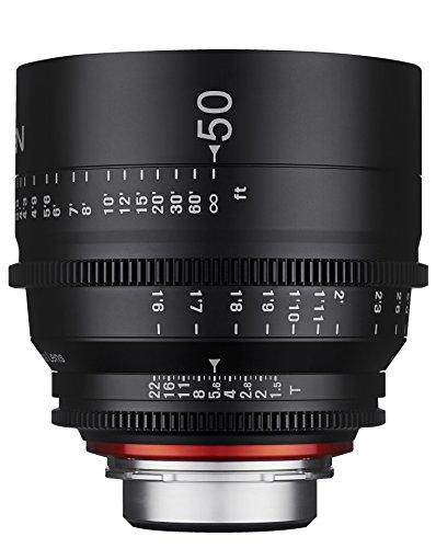 Rokinon Xeen XN50-NEX 50mm T1.5 Professional CINE Lens for Sony E Mount (FE)