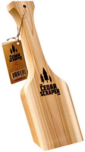 Cedar Scraper All Natural Bristle Grill