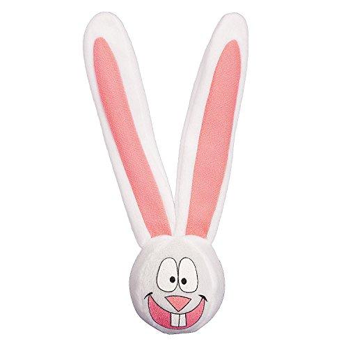 Easter Bunny Bouncing Balls - Fun Express - Plush Bunny Bouncing Ball for Easter - Toys - Plush - Stuffed Non Animal - Easter - 12 Pieces