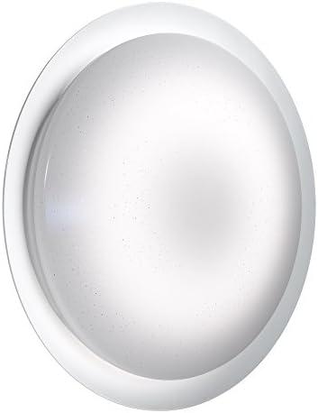 OSRAM LED Wand- und Deckenleuchte, Für Innenanwendungen, Dimmbar und Farbtemperaturwechsel per Fernbedienung, 600,0 mm x 120,0 mm, Orbis Sparkle