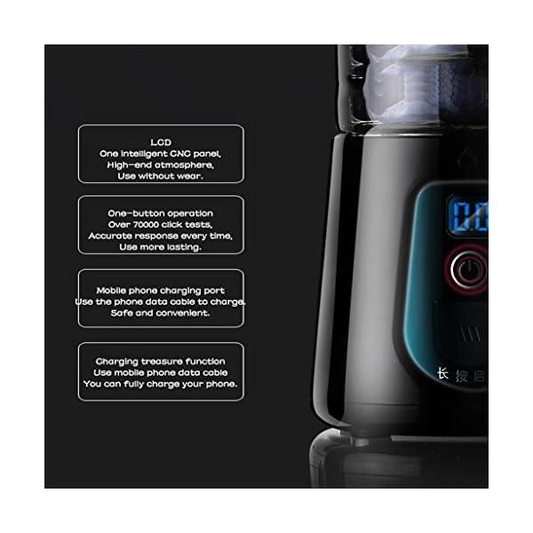 YKXWSS Tazza di Succo Portatile, Elettrico Cucina della casa della Macchina, Mini Succo di Macchina, Multi-Funzione… 5 spesavip