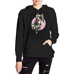 My Hero Academia Boku No Hero Tsuyu Asui Froppy Hoodies Sweatshirt Adult Pullovers for Women