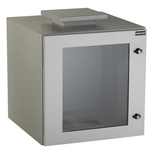 Black Box RMW5120AF Climate Cab NEMA 12 Wall Mount Cabinet with Fan, Beige, Single-Hinged Components