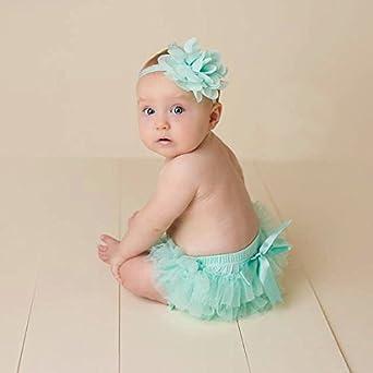 Amazon.com: Bebé Niñas Bloomers Bebé Bebé Bebés AlgodónTulle ...