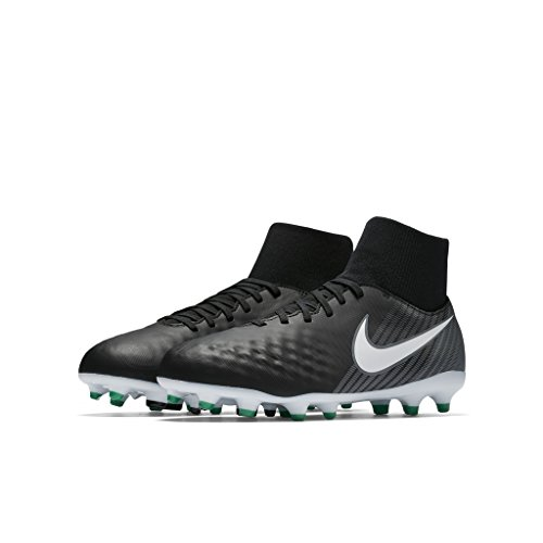 Nike JR MAGISTA ONDA II DF FG boys soccer-shoes 917776-002_3Y - BLACK/WHITE-COOL GREY-STADIUM - Magic Directions To Kingdom