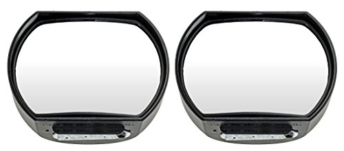 The Big Auxiliary Mirror-Wide-Angle Side View Mirror (Pack of 2)