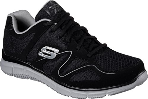 Trainers Memory Point Flash Foam Fitness Skechers Verse BKGY Men's EYxwXq
