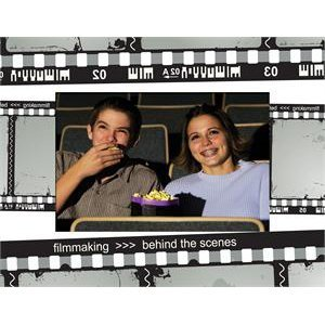 Film Strip Paper Picture Frame - Case of 50 by Neil Enterprises, Inc