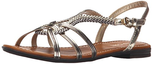 Report Sandal Flat Flat GARAM Champagne Champagne Sandal Report GARAM xzwAxq1pO