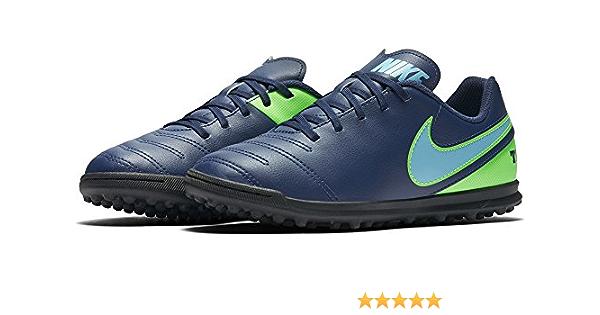 Nike 819197-443, Botas de fútbol Unisex Adulto, Azul (Coastal ...
