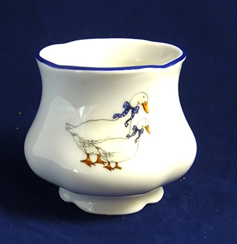 - Geese, Czech porcelain, Bone China Porcelain (Egg Cup Small)