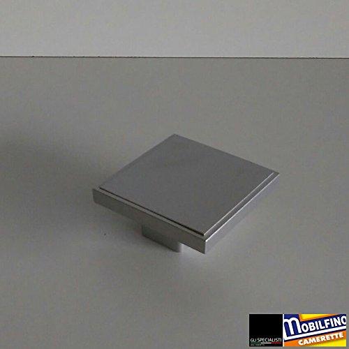 MOBILFINO CAMERETTE Maniglia quadrata cucina cameretta mobile armadio square handle interasse ↔32mm