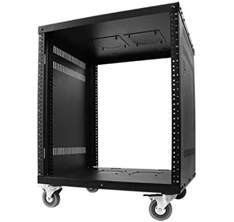 Amazon Com Metal Av Rack With Casters 12u Musical Instruments