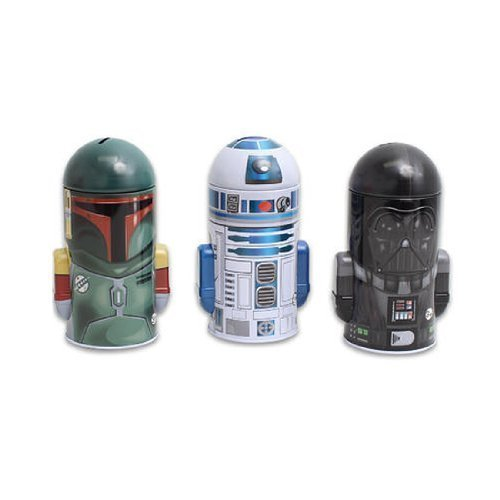 The Tin Box Company Star Wars Tin Banks (3) (Star Wars Bank)