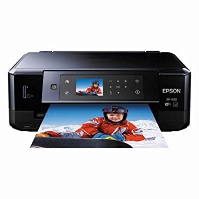 EPSON C11CE01201 Expression Premium XP-620 Wireless Small-in-One Inkjet Printer, Copy/Print/Scan by Epson