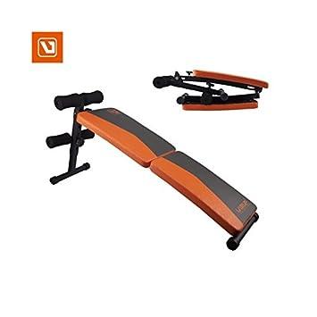 LiveUP Sports - Banco Ajustable Inclinado Plegable Formación Abdominales Entrenamiento Fitness: Amazon.es: Deportes y aire libre
