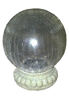 Solar Gazing Ball Stand (Pack of 4) by Smart Solar
