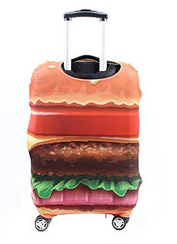 Amazon.com | Washable Travel Luggage Cover Myosotis510 Funny Cartoon Suitcase Protector Fits 18-32 Inch Luggage (M(23