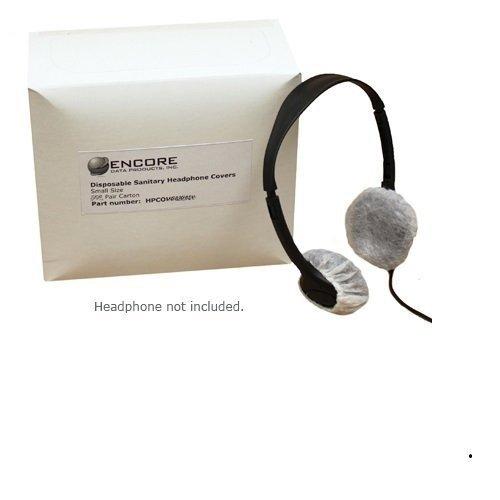 使い捨て衛生Headphone Covers for小型ヘッドバンドヘッドフォンカートンの250ペア500 pcs。)   B00EZWK6AI