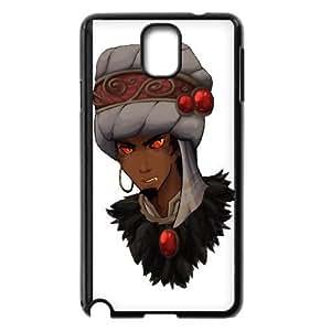 samsung_galaxy_note3 phone case Black World of Warcraft WOW Wrathion TTD3743851