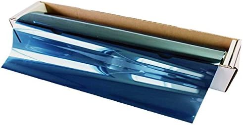 AUTOMAX izumi 切売ミラーフィルム(大)青_幅100cm×100cm~ ブルー 切り売り 窓ガラスフィルム