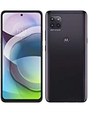 """Moto G 5G 2021 (128GB, 6GB) 6.7"""" Water Repellent, Snapdragon 750, Dual SIM GSM Unlocked Euro 5G Only/Global 4G LTE (T-Mobile, AT&T, Metro) International Model XT2113-3 (Fast Car Charger Bundle, Gray)"""