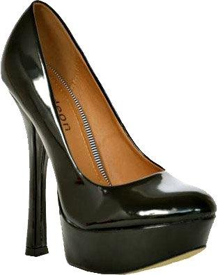 Rtb glänzend Noir Schwarz Femme Escarpins 6BqYwrf6