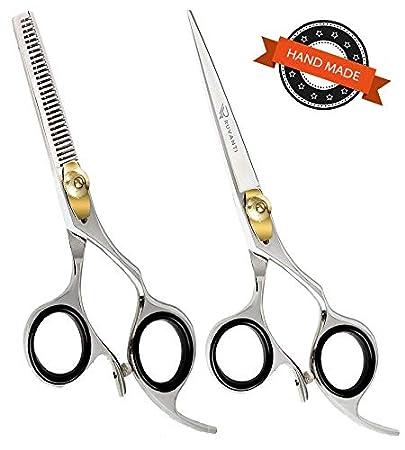 Hair Scissors Beauty & Health Salon Scissors Shears Clipper Hair Cut Barber Hairdressing Regular Cutting Scissor Thinning Scissor With Thumb Rest Styling Tool Strong Packing