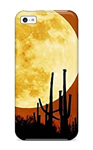 High-end Case Cover Protector For Iphone 5c(rising Moon)