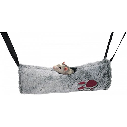Rosewood Snuggles 2 In 1 Hammock And Hanging Tunnel (One Size) (Gray)