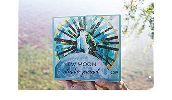 Amazon.com : New Moon Calendar Journal 2019 : Office Products