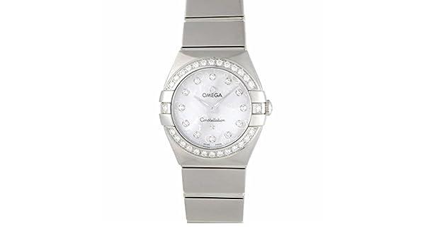 Omega constelación cuarzo mujer reloj 123.15.24.60.55.005 (Certificado) de segunda mano: Omega: Amazon.es: Relojes
