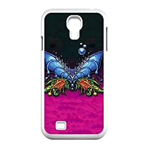 Samsung Galaxy S4 9500 Cell Phone Case White Butterfly GY9207806